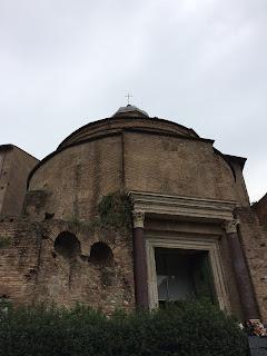 Temple de Romulus - Forum - Rome