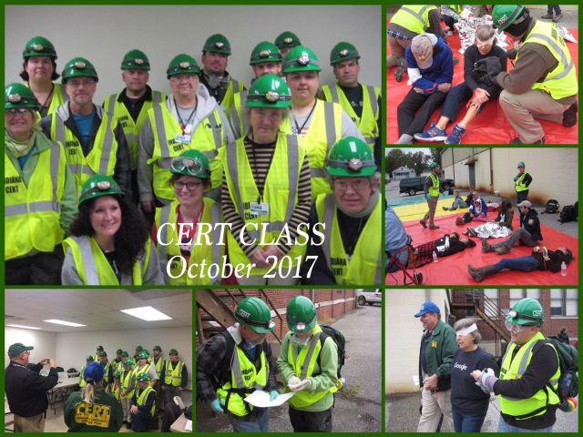 CERT CLASS OCT 2017 COMPLETED