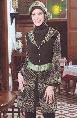 baju batik model