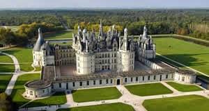 Castelo (Château) de Chambord - Vale do Loire, França