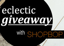 $100 ShopBop Gift Card - Eclectic Giveaway