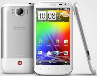 Touchscreen Android Music Phone HTC Sensation XL with Beats Audio
