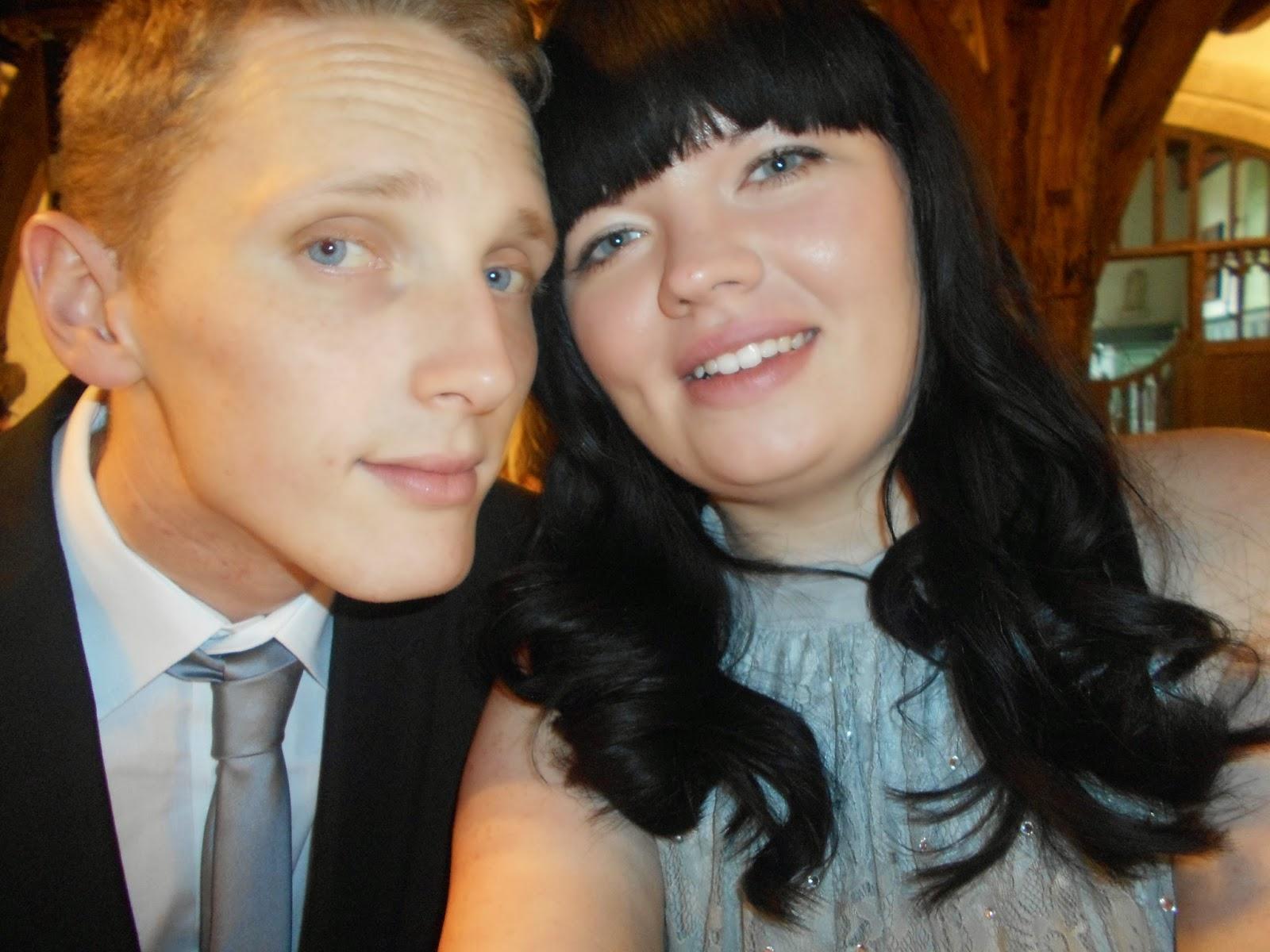 Myself and Gaz - Bridesmaid and Fiancé
