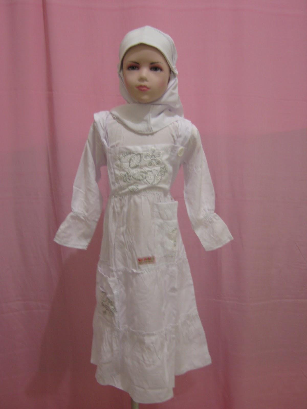 Busana Muslim Murah Berkualitas Muslimah Anak Nf Model