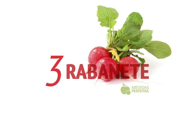 Rabanete - Legumes que Emagrecem