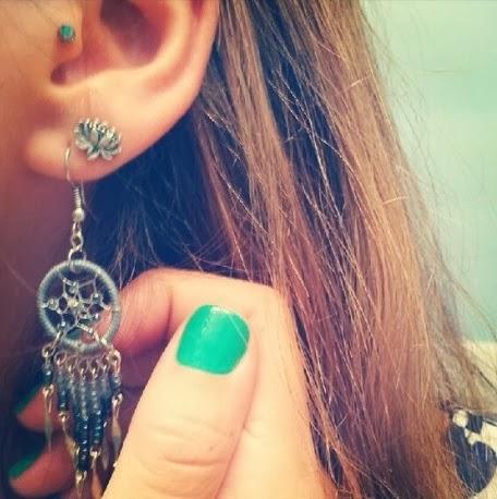 nice dreamcatcher earing