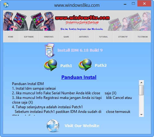 http://www.windows8ku.com/2013/12/idm-618-build-9-patch-idm-fake-serial.html
