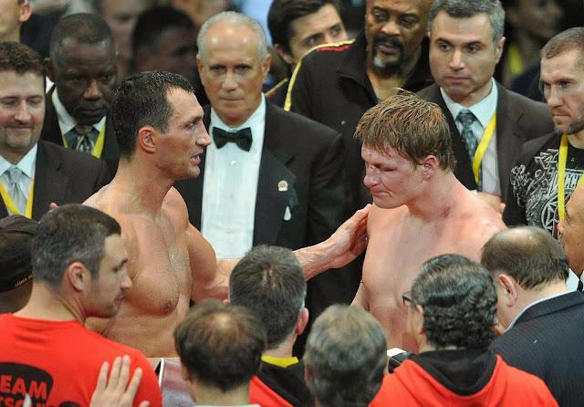после бокса Поветкин-Кличко