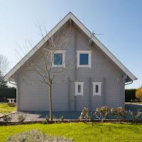 residential log cabin -B150