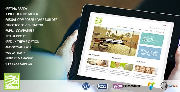 Decor Themes Wordpress Decor Wordpress Theme Free