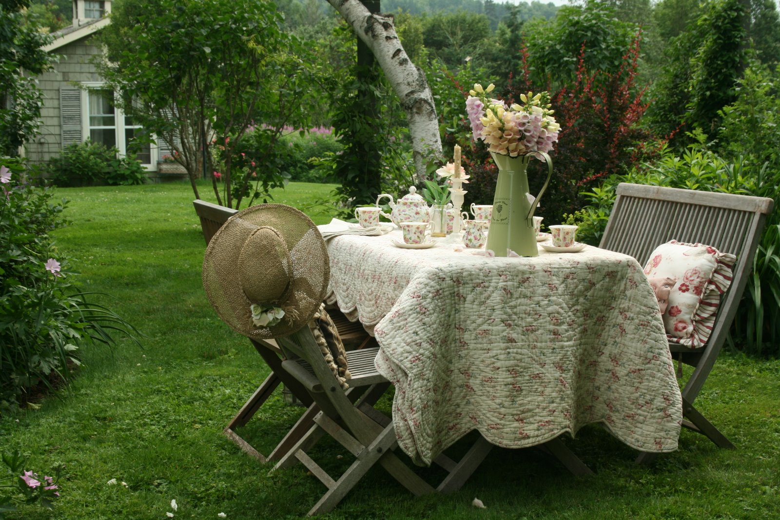 Aiken House Gardens Afternoon Tea In The Garden