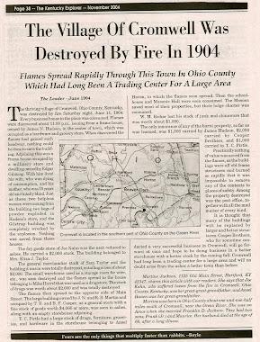 Cromwell Fire