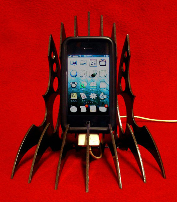 Phone Stand Designs : Unique iphone holders and unusual holder designs
