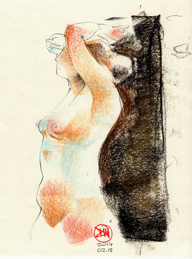 Five minute nude by David Meldrum