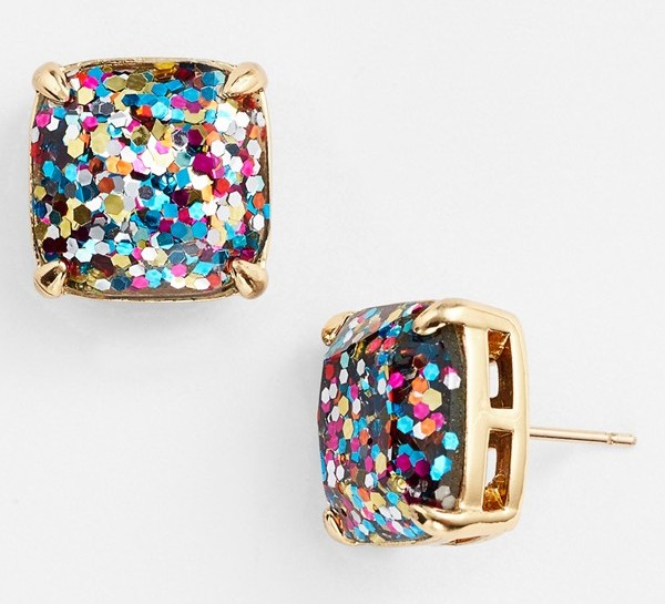 kate spade glitter stud earrings nordstrom anniversary sale