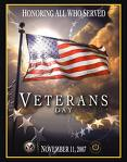 November 11, 2015  A Salute To Veterans