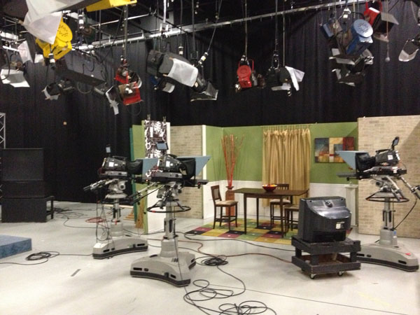 "WCPO Channel 9 Cincinnati ""A New Day"" Set"