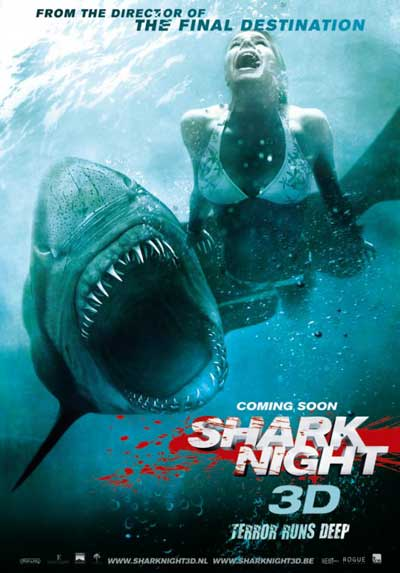 Filme Poster Shark Night TS XviD & RMVB Legendado