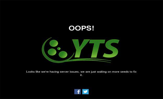 تقارير أشارت إلى إغلاق موقع التورنت الشهير بالأفلام المقرصنة بإغلاق الموقع بشكل دائم