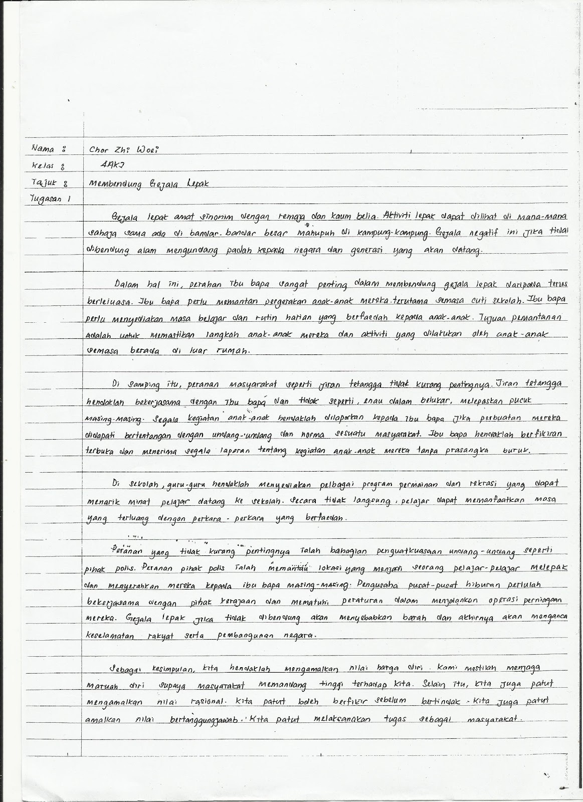 contoh moral essay for folio pendidikan moral Koby jordan from fresno was looking for contoh moral essay for folio pendidikan moral tre bryant found the answer to a search query contoh moral essay for folio.