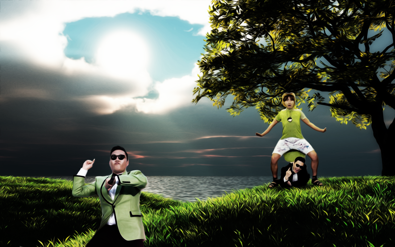 Psy gangam style hd wallpapers for Is wallpaper in style