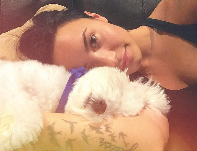 Demi Lovato loses dog in accident and regrets: Our little Angel