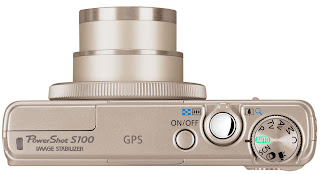 Canon PowerShot S100 Silver Top