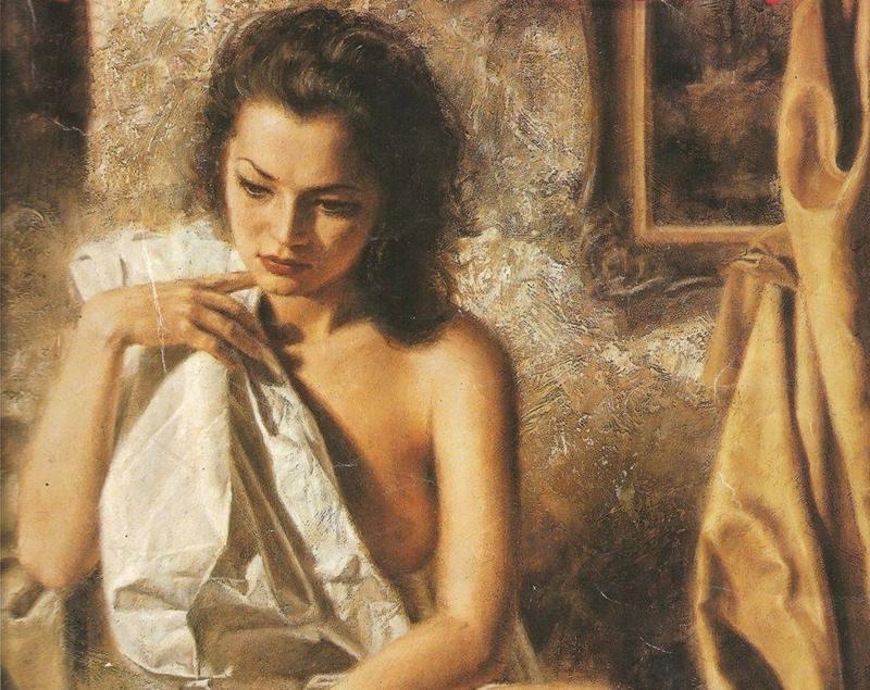 Valery Vetshteyn [Валерий Ветштейн] 1966 - Ukrainian Figurative painter