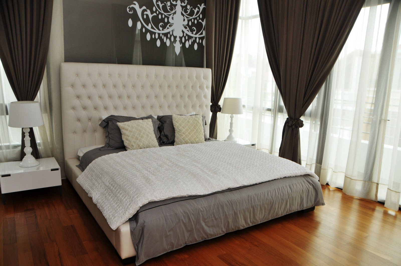 The Spacious Master Bedroom Inside