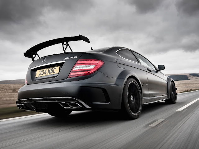 Mercedes-Benz C 63 Coupe AMG Black Series