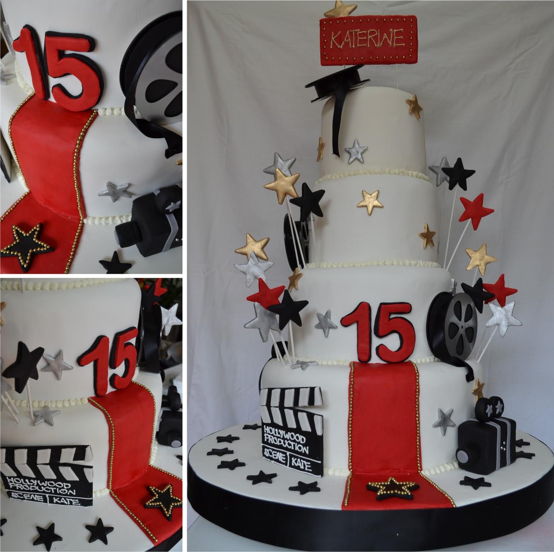 Estrellas de chollywood cake ideas and designs - Decorar con estilo ...