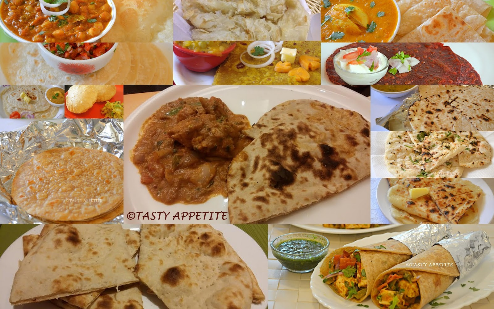 roti recipes / roti / chapathi / naan recipes / quick indian bread recipes