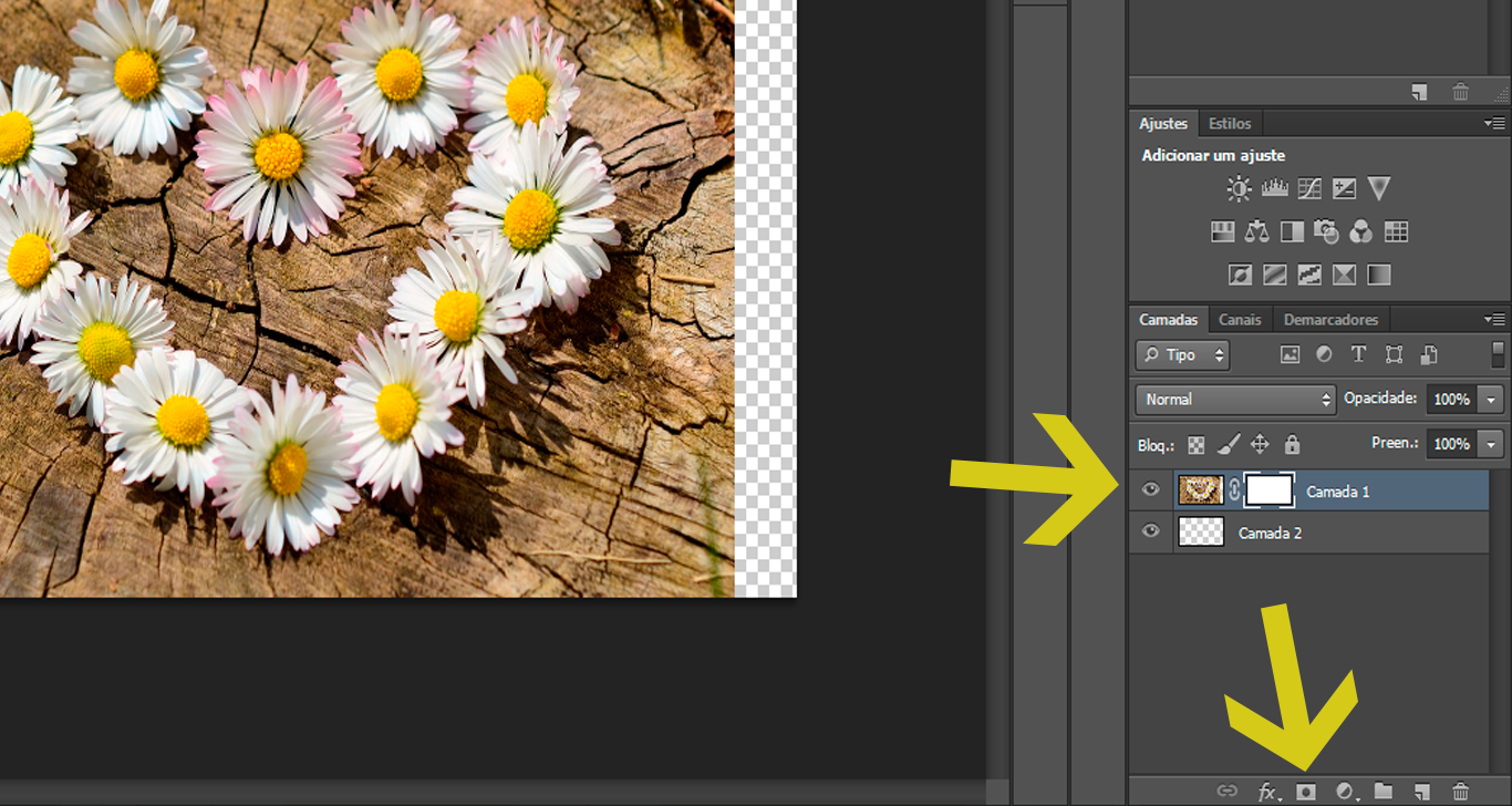 Tutorial efeito degradê Photoshop