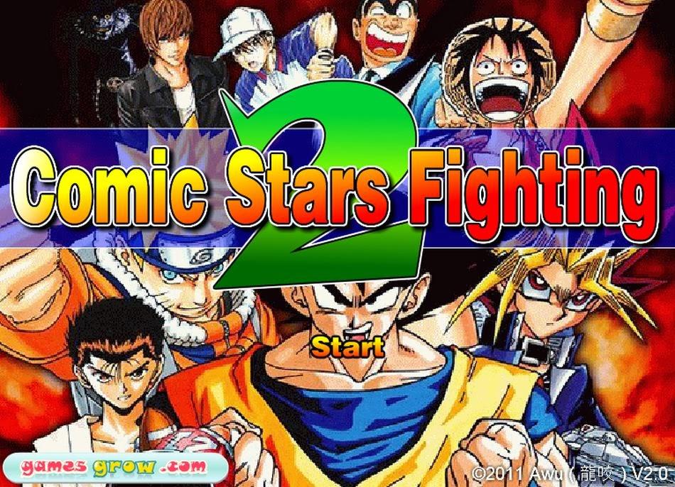 Comic Stars Fighting 2 | Juegos de Anime
