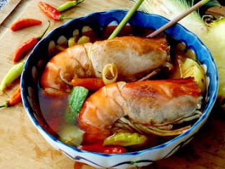Resep Sup Udang Galah