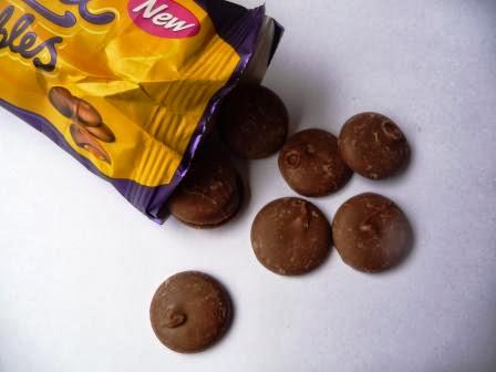 Caramel Nibbles de Cadbury