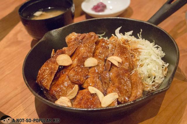 Tokyo Tonteki in Greenbelt 5, Makati