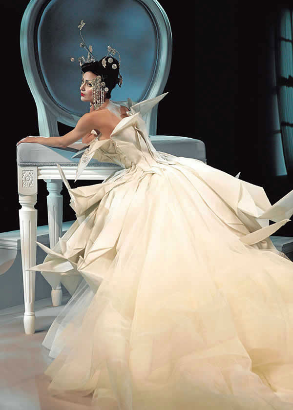 ... created by John Galliano for Christian Dior, spring/summer 2007