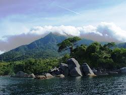 Mount Capoas, Malampaya Sound