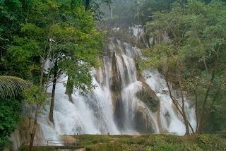 Kuang Si vandfaldet, Laos
