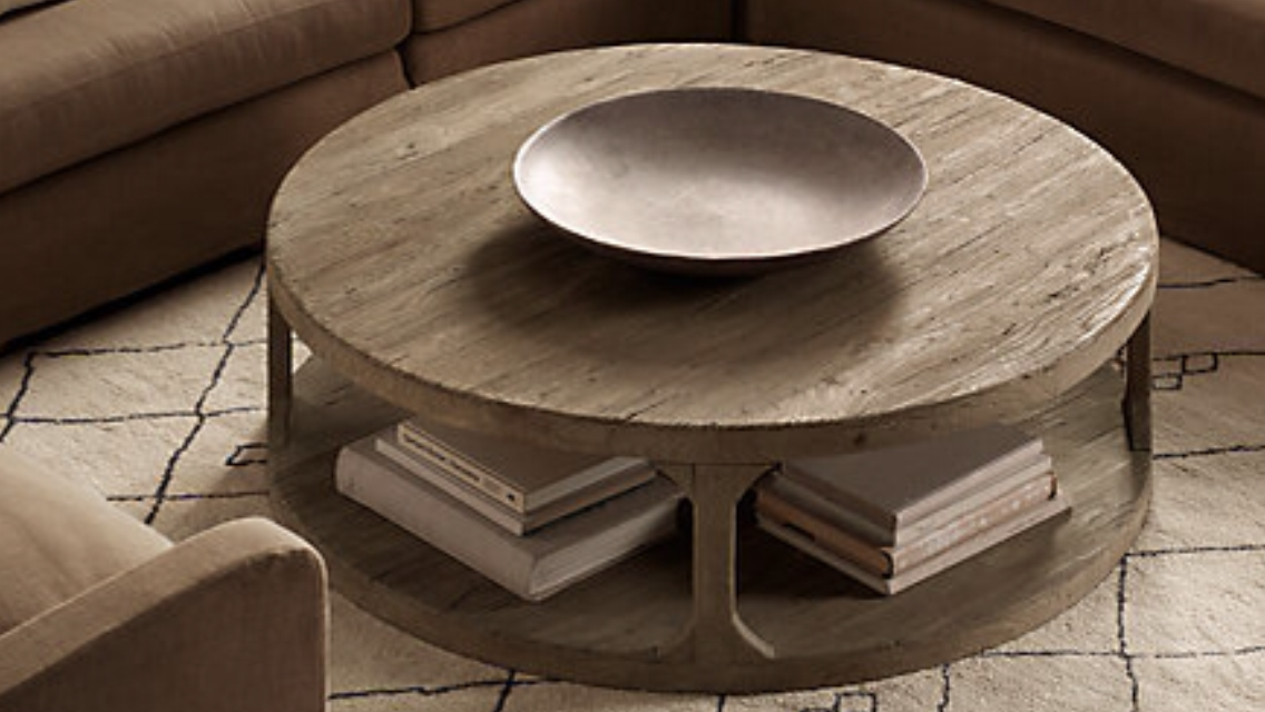 Rustic round timber coffee table to buy or not to buy Rustic round coffee table