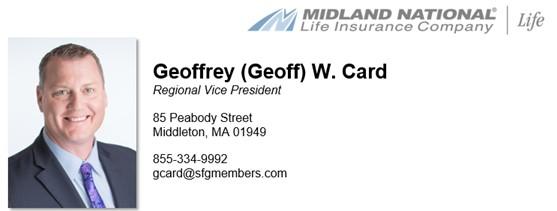 Geoff Card - Regional Vice President