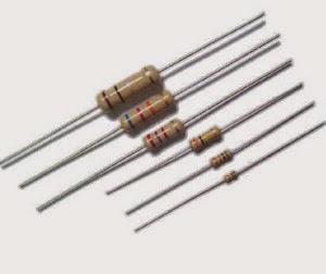 Resistor Film Carbon komponen elektronika