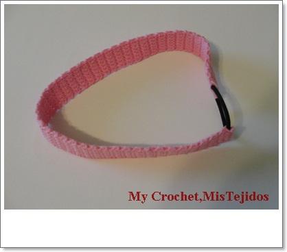 1.5'' Elastic Crochet Headband Ribbon - RIBBONS