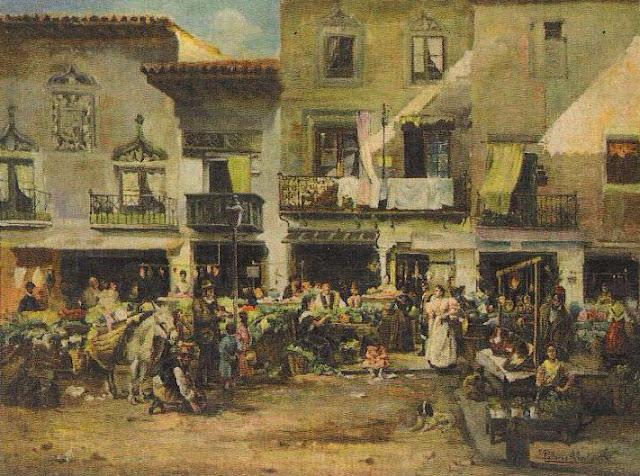 """""""Mercado de Zaragoza"""" JOAQUÍN PALLARÉS"""