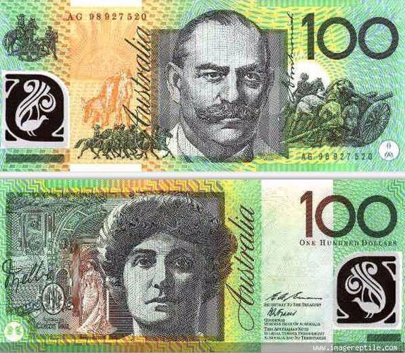 Dunia Uang Audaustralian Dolardolar Australi