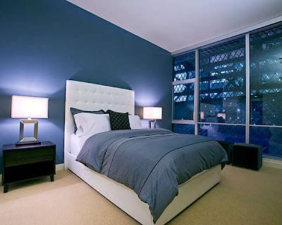 warna cat kamar tidur modern