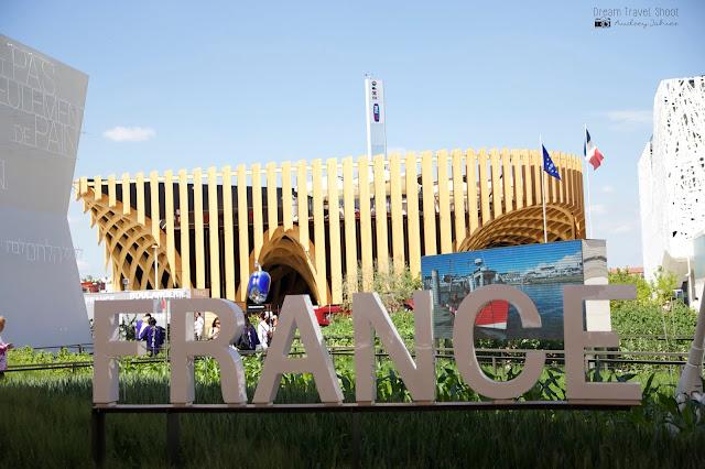 Exposition universelle Milano expo 2015 Pavillon France