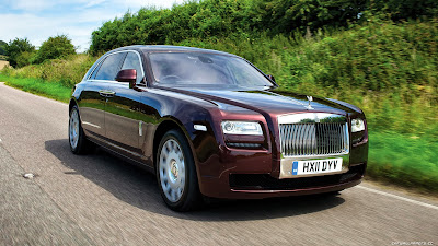 rolls royce car ghost extended wheelbase