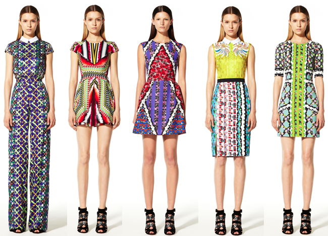 Peter Pilotto Resort 2013
